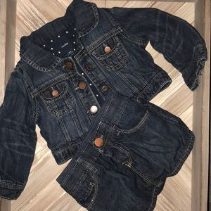 Baby Gap Jean Jacket and Skirt